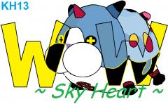 Meow Wow Sky Heart