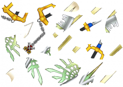 20 pieces Of The X Blade