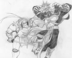 Alphonse Elric VS Crimson
