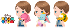Tsum Tsum KHUX Shoulder animals