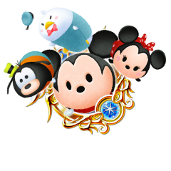 Tsum Tsum Medal - Mickey and Friends