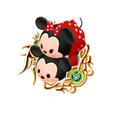 Tsum Tsum Medal - Mickey and Minnie