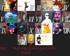 THE WHOREGANIZATION OF KH13
