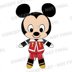 KingdomHearts Mickey Plush Watermarked large