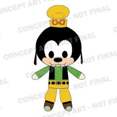 KingdomHearts Goofy Plush Watermarked large