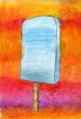 Sunset and Sea-salt Ice Cream