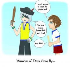 Young Sora And Riku