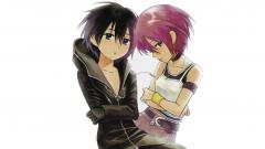 027 Xion and Kairi wallpaper