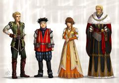 The Twilight Town gang and Ansem the Wise