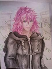 Marluxia - Watercolor