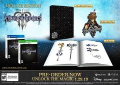 Kingdom Hearts III Deluxe Edition and Deluxe Edition + Figs
