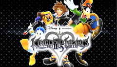 Kingdom Hearts HD 2.5 ReMIX Sora , Donald, and Goofy Background