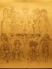 Kingdom Hearts 2.5 (Art_contest) Republished rightside up