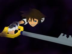 Sora been swallowed by the Darkness