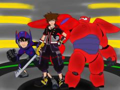 Sora in Big Hero 6