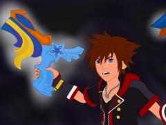 Sora in Kingdom Hearts 3