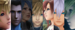 KH2 Re:Mix Characters