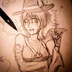Halloween Town Aqua