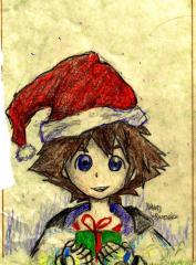 Sora has a Christmas Present for you