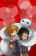 Kingdom Hearts 3 Big Hero 6 - Sora and Baymax