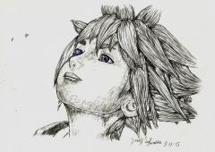 Sora - Kingdom Hearts 3 BallPoint Pen Drawing