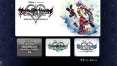 Kingdom Hearts HD 2.8 Title Screen