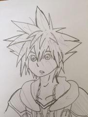 Sora (pencil drawing)