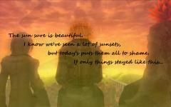 One Last Sunset...