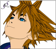 kingdom hearts Iii sora By benji Xd d68scsu