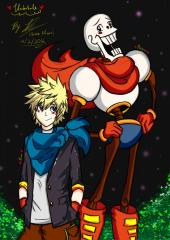 Roxas and Papyrus
