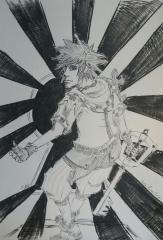 My Sora Drawing :) (Roxas Drive Form)