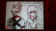 Ventus Meets Serena For The First Time Scene ( chapter 0 : A New Home)