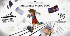 Kingdom Hearts Memorial Music Box Website