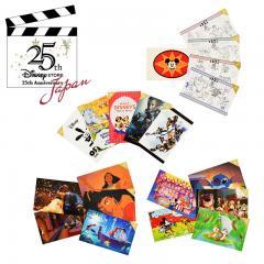 Disney Store Japan 25th Anniversary 14 piece set