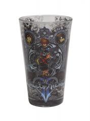 Kingdom Hearts pint glass 1