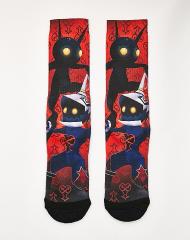 Kingdom Hearts Heartless crew socks