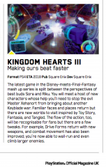 Kingdom Hearts III PlayStation Magazine UK January 2018 3