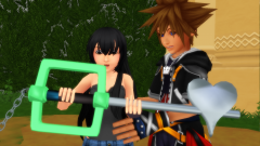 sora look what I Got A keyblade