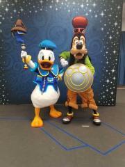 Donald & Goody at Cast Appreciation Party, Epcot 2017