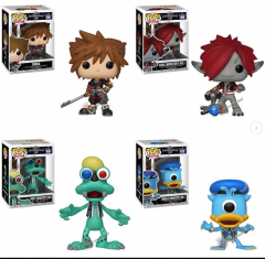 Funko POP Kingdom Hearts III Sora and Monster Forms