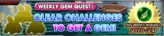 weekly Gem quest nov13