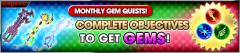 monthly Gem quest Feb