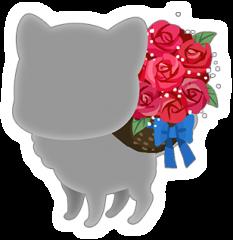 rose flower basket