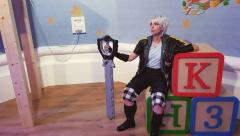 Riku at Andy's Room