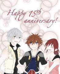 Happy 15th anniversary!