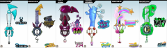 Keyblade Set   Nickelodeon 1