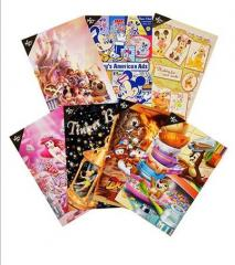 Disney Store 25th Post cards