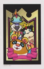 Kingdom Hearts 3D, AR Cards - North American version