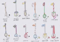 fan keyblades
