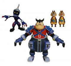 0005001 kingdom hearts select series 2 pete chip dale soldier action figures